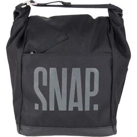 Snap Big Chalk Bag Fleece, negro